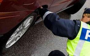 poliskontroll däck